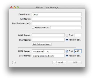 Gmail-SMTP-configuration