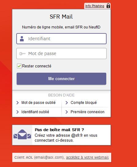 se-connecter-sfr-mail